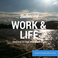 Balancing work and life (and how to cope with sunny days)