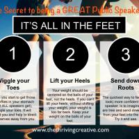 Public Speaking Importance of Feet