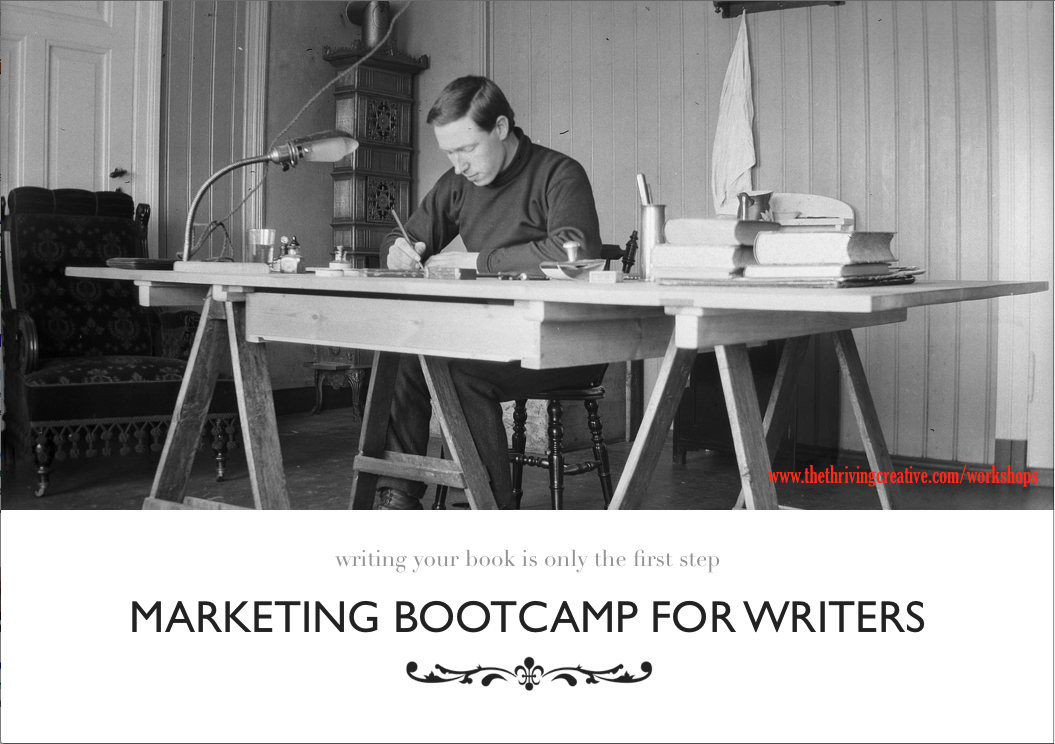 Marketing Bootcamp for Writers. London, England. 27 September.