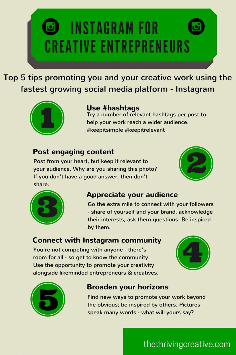 Instagram for Creative Entrepreneurs