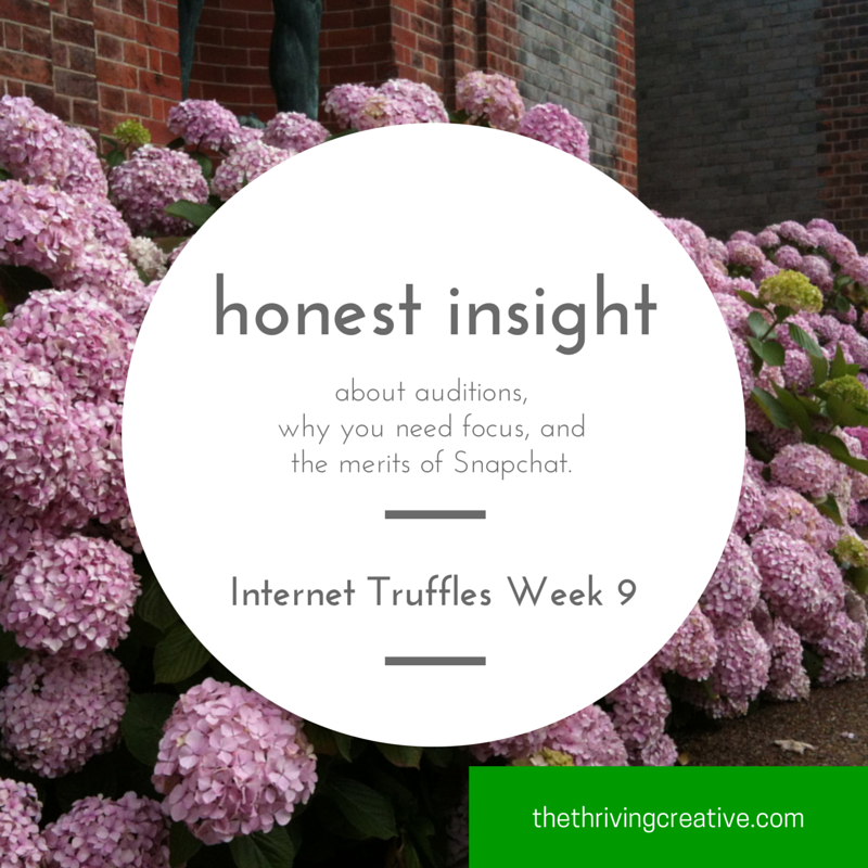 Internet Truffles Week 9