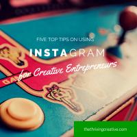 5 Top Tips on Using Instagram for Creative Entrepreneurs
