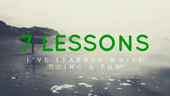 7 Lessons